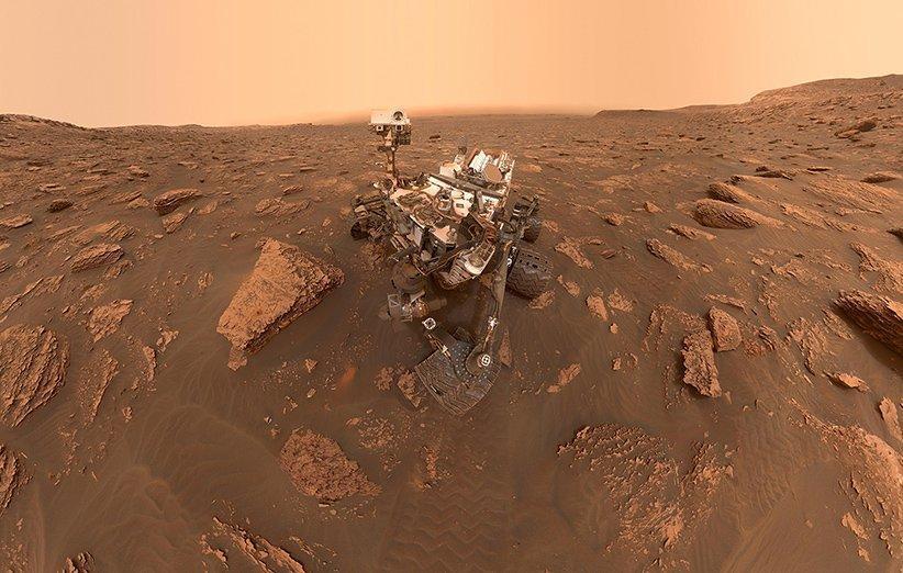 کنجکاوی بشر در مریخ هشت ساله شد
