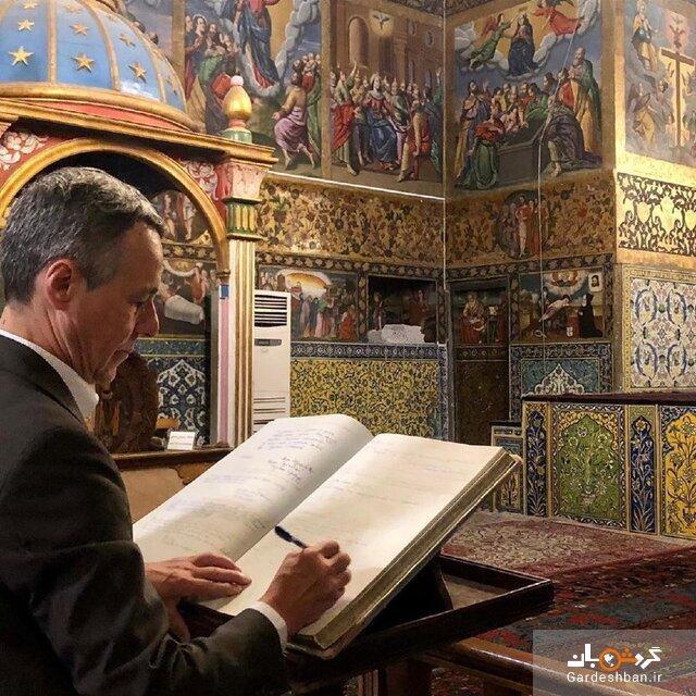 تصویری که وزیر خارجه سوییس از ایران نشان داد