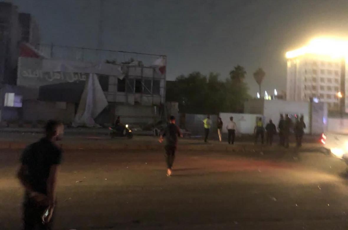 خبرنگاران انفجار در جنوب بغداد